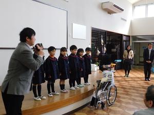 作新幼稚園車椅子寄贈式 020.JPG